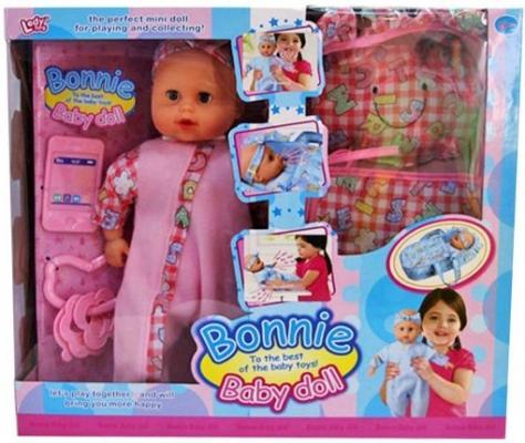 Пупс Shantou Gepai Бонни 35 см со звуком Y4071620 пупс shantou gepai любимая кукла 30 см со звуком ld9913f