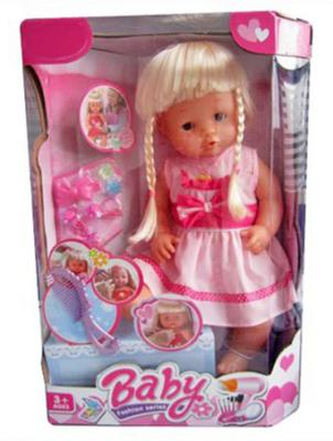 Кукла Shantou Gepai Нарядная малышка 40 см с аксессуарами Y16203224 кукла shantou gepai princess club kw20906