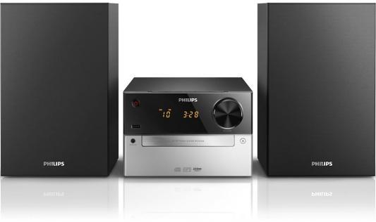 цена на Музыкальный центр Philips MCM2300/12 черный