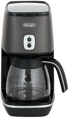 Кофеварка DeLonghi ICMI211.BK черный кофемашина delonghi ecam 45 760 w белый