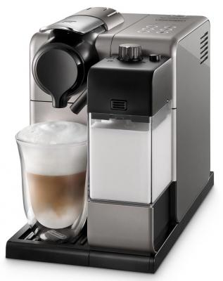 Кофемашина DeLonghi Nespresso EN550.S серебристый кофемашина delonghi ecam 25 462 s 1450вт 1 8л 15 бар серебристый