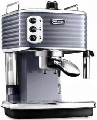 Кофеварка DeLonghi ECZ351.GY серебристый