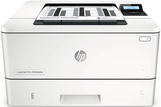 Принтер HP LaserJet Pro M402dne C5J91A ч/б A4 38ppm 1200x1200dpi 256Mb Ethernet USB картридж t2 для hp tc h85a laserjet p1102 1102w pro m1132 m1212nf m1214nfh canon i sensys lbp6000 cartrige 725 1600 стр с чипом