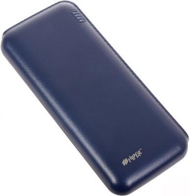 Портативное зарядное устройство HIPER Power Bank SP12500 12500мАч синий