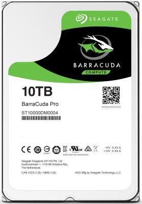 Жесткий диск 3.5 10Tb 7200rpm Seagate SATAIII ST10000DM0004 жесткий диск 10tb seagate barracuda pro st10000dm0004