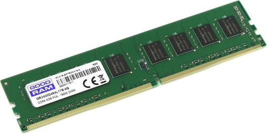 Оперативная память 4Gb PC4-19200 2400MHz DDR4 DIMM GoodRAM CL17 GR2400D464L17S/4G