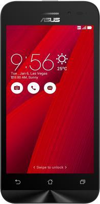 "Смартфон ASUS Zenfone Go ZB450KL красный 4.5"" 8 Гб LTE Wi-Fi GPS 3G 90AX0093-M00380"