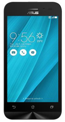 "Смартфон ASUS Zenfone Go ZB450KL серебристый 4.5"" 8 Гб LTE Wi-Fi GPS 3G 90AX0097-M00400"