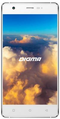 """Смартфон Digma VOX S503 4G белый серебристый 5"""" 16 Гб LTE Wi-Fi GPS 3G"""