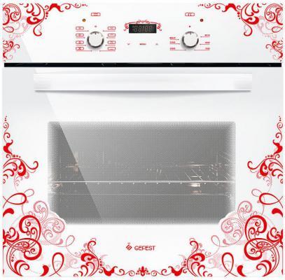 Электрический шкаф Gefest 622-02 К15 белый с рисунком