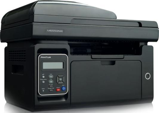 МФУ Pantum M6550NW ч/б A4 22ppm 1200x1200dpi USB черный мфу pantum m6500