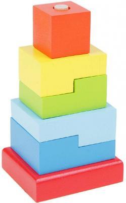 Пирамида Alatoys Ступеньки 6 элементов ПСТ03 пирамидка алатойс клоун