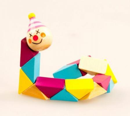 Купить Логическая игрушка Mapacha Клоун 76413, Развивающие игрушки из дерева
