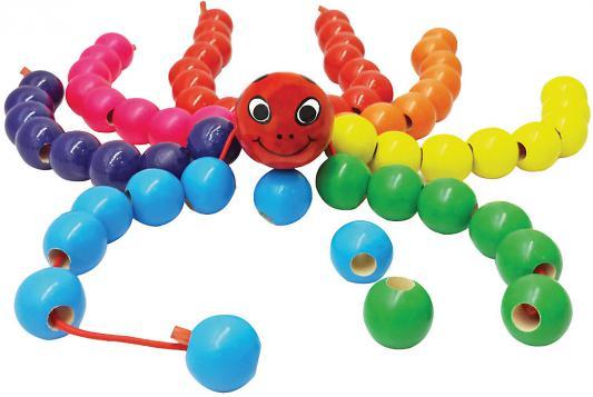 Купить Шнуровка Mapacha паук «Бусиног» 76449, Развивающие игрушки из дерева