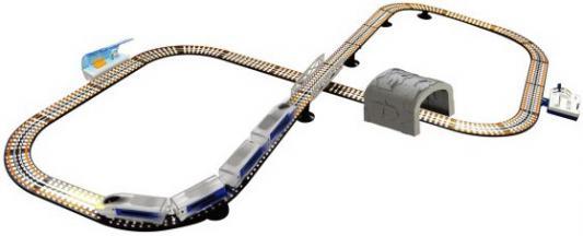 Железная дорога Shantou Gepai Молния, пульт управления, контроль скорости, свет фар, длина пути 460см