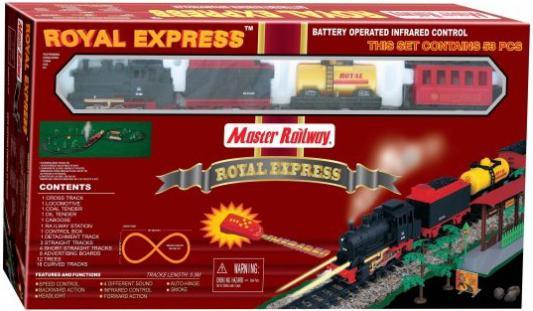 Железная дорога Shantou Gepai Королевский экспресс, ИК-управление, свет, длина пути 550см