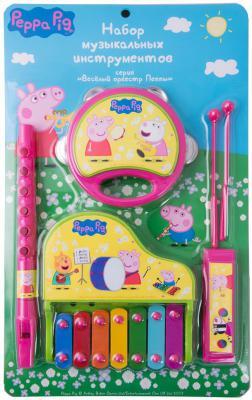 Набор музыкальных инструментов Росмэн ТМ Peppa Pig