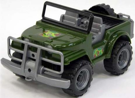 Машина Нордпласт Сафари Коммандос зеленый 33 см 4607006446090