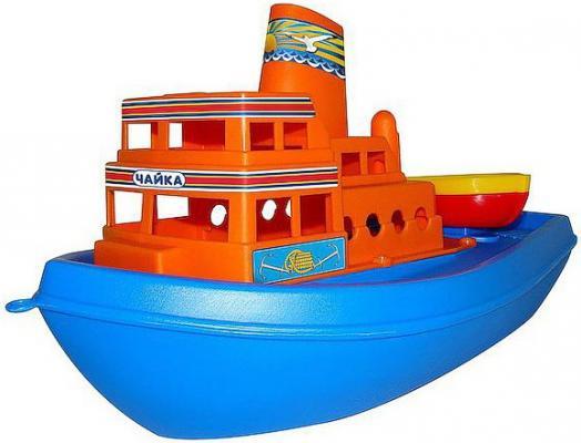 Корабль Полесье Чайка 36 см синий 36964 игрушка полесье корабль чайка 36964