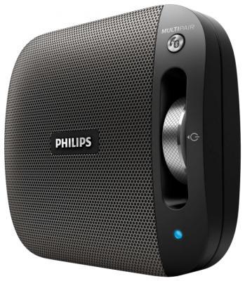 Портативная акустикаPhilips BT2600B/00 черный колонка philips bt2600b 00 black