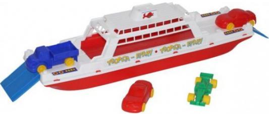 Игровой набор Полесье Паром Балтик+ Автомобиль Мини разноцветный 4 шт полесье игровой набор чистюля мини 42910