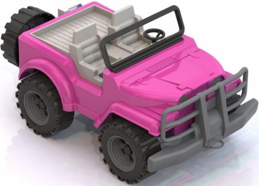Автомобиль Нордпласт Джип розовый 224
