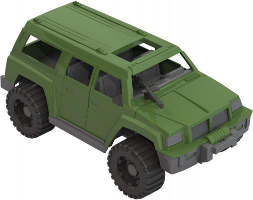 Купить Джип Нордпласт Патруль зеленый 215, Детские модели машинок