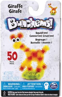 Конструктор Bunchems Животные 50 элементов 3 шт.в ассортименте