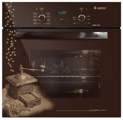 Электрический шкаф Gefest ДА 622-02 К17 коричневый минипечь gefest пгэ 120 пгэ 120