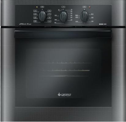 Электрический шкаф Gefest ДА 622-01 черный 37365