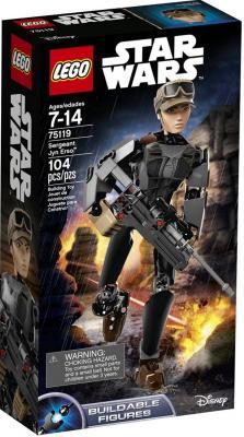 Конструктор LEGO Star Wars Сержант Джин Эрсо 104 элемента 75119
