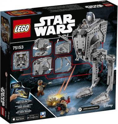 Конструктор Lego Star Wars Разведывательный транспортный шагоход AT-ST 449 элемента 75153