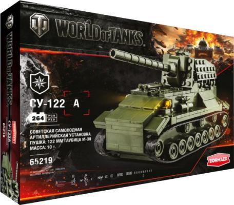 Конструктор Zormaer World of Tanks СУ-122 264 элемента 65219