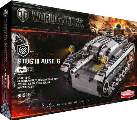 Конструктор Zormaer World of Tanks Stug III Ausf G 299 элементов
