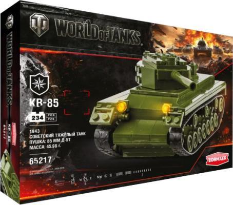 Конструктор Zormaer World of Tanks КВ-85 234 элемента
