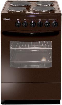 Электрическая плита Лысьва ЭП 403 МС коричневый