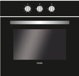 Электрический шкаф Vestel VOE66BTC черный