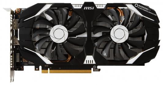 Видеокарта MSI GeForce GTX 1060 GTX 1060 6GT OCV1 PCI-E 6144Mb GDDR5 192 Bit Retail