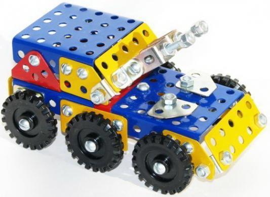 Металлический конструктор Самоделкин К2 Техник 192 элемента 4606735743531