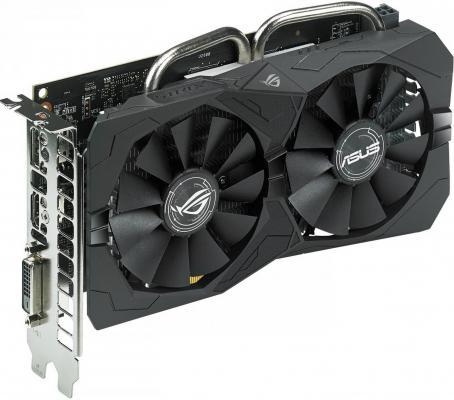 Видеокарта 4096Mb ASUS RX 460 PCI-E DVI HDMI DP HDCP STRIX-RX460-O4G-GAMING Retail