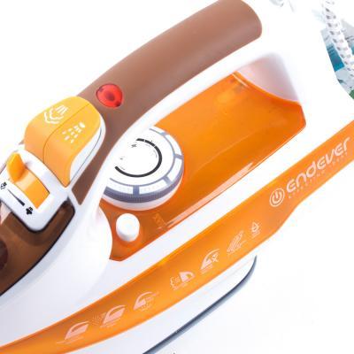 Утюг ENDEVER Skysteam-716 2400Вт белый оранжевый от 123.ru
