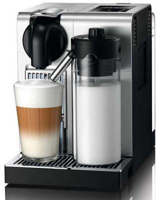 Кофемашина DeLonghi Nespresso EN 750.MB серебристый