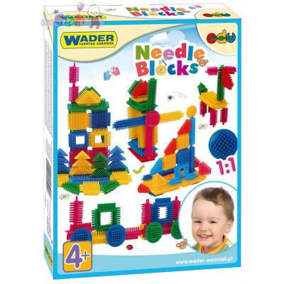 Купить Конструктор Wader Ёжик 64 элемента, Мягкие конструкторы для детей