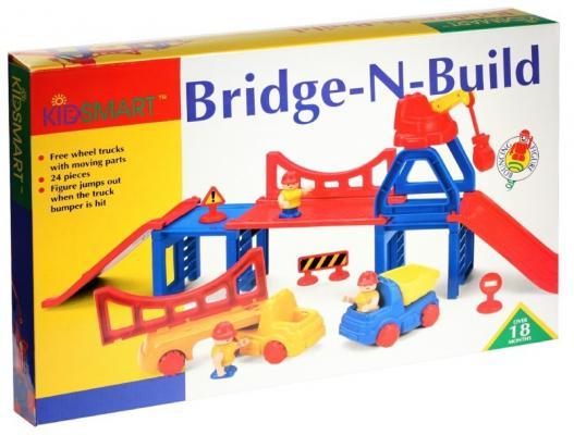 Конструктор Kidsmart Строительство моста 24 элемента