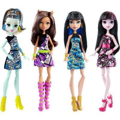 Кукла Monster High Главные персонажи DTD90 в ассортименте
