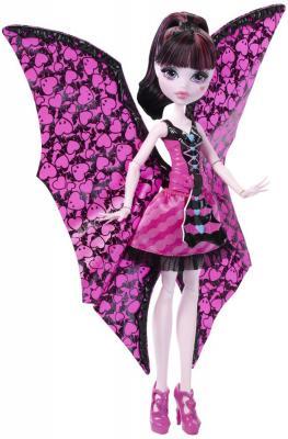 Кукла Monster High Дракулаура 26 см DNX65 в трансформирующемся наряде mattel monster high dnw98 кукла дракулаура