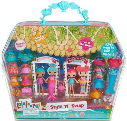 Игровой набор Lalaloopsy Mini с двумя куклами и аксессуарами 22 предмета 539643 в ассортименте