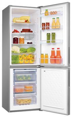 Холодильник Hansa FK321.3DFX серебристый холодильник встраиваемый hansa bk316 3