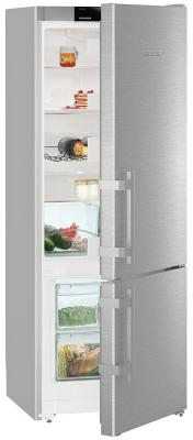 Холодильник Liebherr CUsl 2915-20 001 серебристый холодильник liebherr cufr 3311 двухкамерный красный