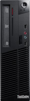 Компьютер Lenovo ThinkCentre M73e Intel Core i3-4170 4Gb 500Gb Intel HD Graphics 4400 64 Мб Windows 7 Professional + Windows 8 Professional черный 10B4S37200